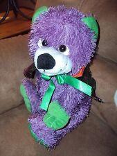 Bear Purple Halloween Colorful Spiderweb Cape Tony Toy Puli Int'l Stuffed Plush