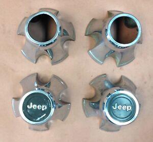 Jeep Cj Laredo chrome wheel center caps Cj5 Cj7 Cj8 AMC cap