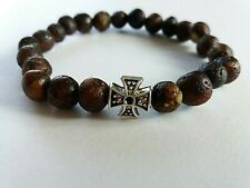 BALTIC AMBER, BRACELET WITH CROSS