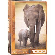 1000 Gioco Svago Passatempo Animali Regalo 024 CST1000 PUZZLE ELEFANTI  PZ