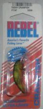 Rebel teeny crawdad f7767 crawfish fishing lure bass