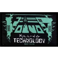 Voivod Killing Technology Patch Official Heavy Metal New