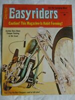 Easyriders Magazine February 1972 Harley mag - Dave Mann centrefold Volume 2 #1