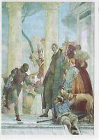 CP ART TABLEAU GIAMBATTISTA TIEPOLO L'arrivée d'Henri III à la villa Contarini