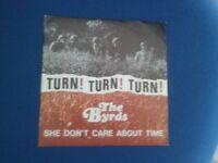 """7"""" disco 45 giri THE BYRDS - TURN! TURN! TURN! SHE DON'T"""