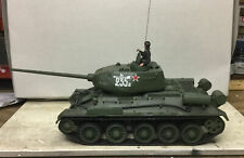 1:32 Diecast Unimax Toys Forces of Valor WWII Russian Army T34/85 Medium Tank.