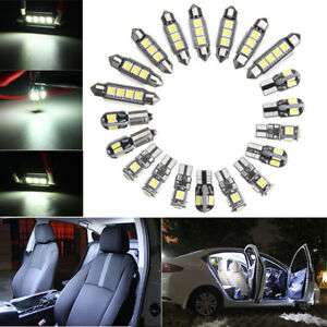 20x White Car Interior LED Light For BMW 5 Series E39 525i 530i M 1997-2002 2003