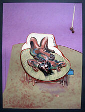 "FRANCIS BACON: ""LYING FIGURE"" FARBLITHOGRAPHIE 1966 FIGURA TUMBADA RECLINING"