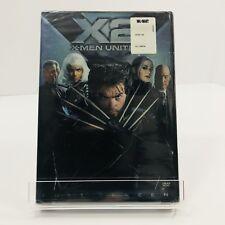 New Sealed X2: X-Men United (DVD, 2003, 2-Disc Set, Pan  Scan) FS