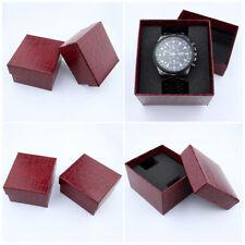 1x Boîte Ecrin Montre Coffret Bijoux Bracelet Rangement Présentoir Cadeau Papier