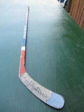 "Vintage Wooden 45"" Long Hockey Stick Ccm Vector"