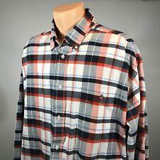 Duck Head 2XL Shirt Mens Long Sleeve Button Down Size XXL Plaid Cotton