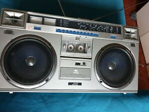 Radio kassetten recorder JVC MMS Ghettoblaster