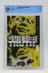 Department Of Truth (2020) #1 Corrected Sixth Printing 1 In 25 CBCS 9.8 WH Pgs