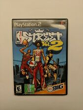 Sony Playstation 2 PS2 NBA Street Vol. 2 EA Sports Big COMPLETE & TESTED