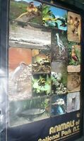 1 LARGE POSTER  65 X 50 CM APPROX ANIMALS OF KAKADU AUSTRALIA NT NATIONAL PARK