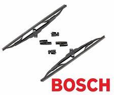 """For Mazda Porsche VW Two Front Windshield Wiper Blades 13"""" 40 713 Bosch"""