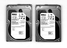 "LOT 2X Dell 2 To  6G 7.2k SAS 3.5"" Seagate ST32000444SS FIRM KS64 PN R755K"