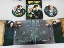 HARRY POTTER Y LA CAMARA SECRETA 2 X DVD CAJA CARTON DESPLEGABLE ESPAÑ ENGLISH