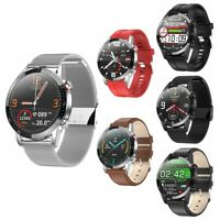 L13 Waterproof IP68 PPG ECG Blood Pressure Oxygen Heart Rate Monitor Smart Watch