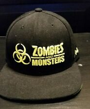 SLC ComicCon Zombies and Monsters Funko Snapback Ball Cap Hat Flat Bill Hip Hop