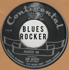 R&B REPRO: CONTINENTAL – JOE BOOTS – SQUEEZE ME / I DON'T WANT NOBODY BUT YOU