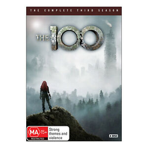 The 100: Season 3 DVD (4 Disc Set) Brand New Region 4 Aust. - Eliza Taylor