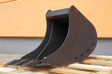 Tieflöffel Baggerschaufel Baggerlöffel Minibagger 30 cm 300 mm ohne Aufnahme