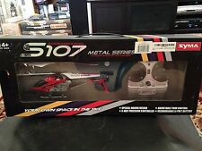 Syma S107 Metal Series 3 Channel IR System Helicopter (Refurb)