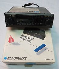 Blaupunkt Tucson Dual Shaft Cassette Car Stereo Radio and NOS  BQA-120 Amplifier