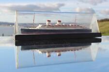 ITALIAN LINE CONTE DE SAVOIA BASSETT LOWKE CASED WATERLINE MODEL SHIP