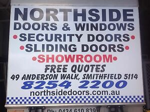 SA Security door Massive range from $280 sliding doors Sliding Windows SA