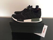 "Adidas NMD r1 Limited ""footlocker exclusive"" Black-green US 9 EU 42 2/3"