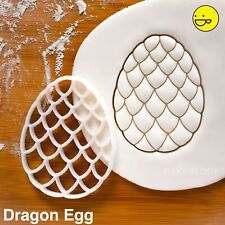 Dragon Egg Cookie Cutter | jeu fossilisé oeufs Thrones Biscuit Cutters