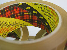 30 x 3M 371 Scotch Buff Brown Parcel Packing Packaging Tape 48mm x 66m