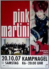 PINK MARTINI - 2007 - Konzertplakat - Hey Eugene - Tourposter - Hamburg