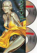 "KRAFTWERK - YAZOO - VISAGE - OMD - CLARK - ERASURE ""TODO TECHNO"" SPANISH 2CD SET"