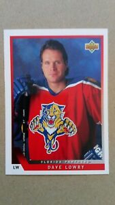 1993-94 Upper Deck #67 Dave Lowry Florida Panthers