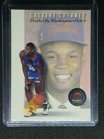 1993 Skybox CALBERT CHEANEY RC #DP6 Washington Bullets ROOKIE CARD