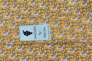 "VINEYARD VINES MARTHA'S VINEYARD BEARS/YELLOW Men's Neck Tie W:4"" by L:59"""