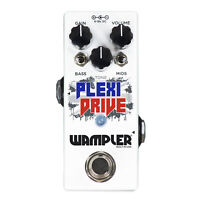 Wampler Plexi-Drive Mini British Overdrive Guitar Effects Pedal | Auth Dealer!