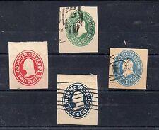 Estados Unidos Valores de Enteros Postales (CJ-672)