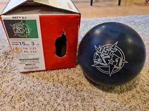 "Roto Grip RST X-1 1st Quality Bowling Ball | 15 Pounds | 3-3.5"" Pin | 3.23oz TW"