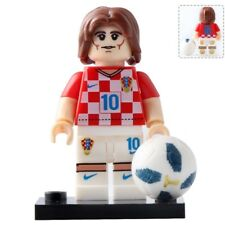 Neymar CBF Brazil Football Player Russia Word Cup 2018 Lego Minifigure Toys