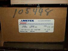 AMETEK C1929 60-0-60 1/2 LM 4-1/2 J2 132788 GAUGE  (MM2)