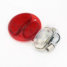 FORD MODEL A  LED TAILLIGHT LENS 6 VOLT SOLID RED LEFT