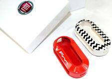 Fiat 500 Remote Key Covers Bright Red / Zig Zag Design  New Genuine 50927692