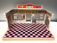 Dixie's Diner Playset Only 1989 Tyco