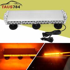 Amber Emergency Mini LED Light bar Magnetic Roof Mount Strobe Light Bar