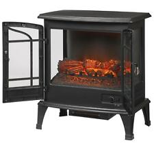 Infrared Electric Stove Legacy 1,000 sq. ft. Panoramic Portable Fireplace Heater